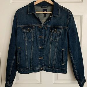 GAP jean jacket size M